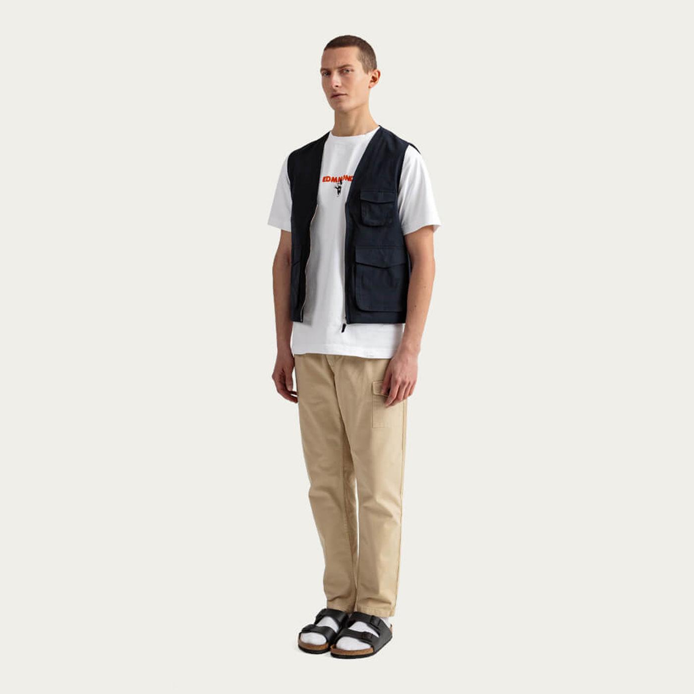White Short Sleeve Blinky T-shirt   Bombinate