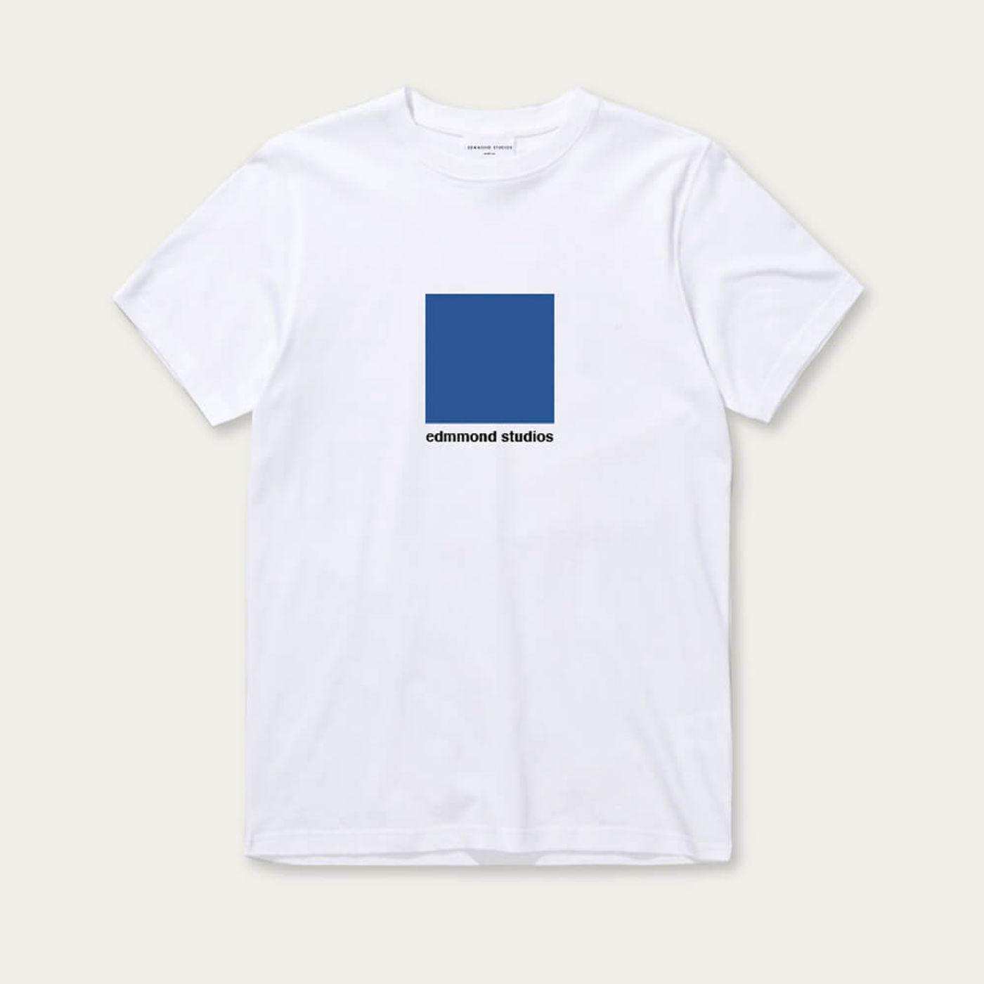 White Short Sleeve Outline T-shirt | Bombinate
