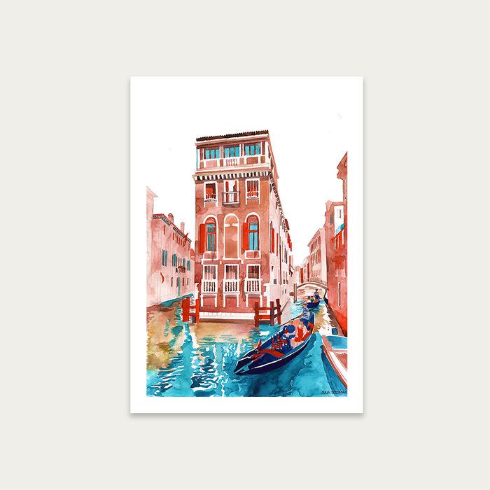 Venice Art Print Unframed | Bombinate