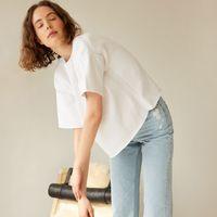 White Aistis T-Shirt   Bombinate