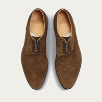 Hunting Green Budapest Suede Shoes | Bombinate