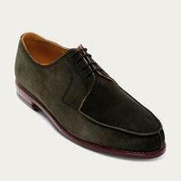 Racing Green Norwegian Suede Leather Shoes | Bombinate