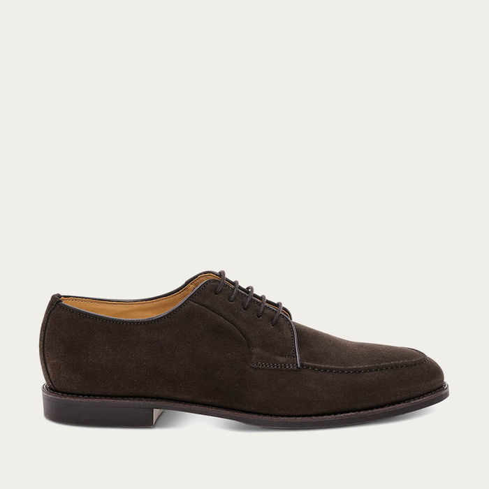 Mocha Bostonian Suede Leather Shoes | Bombinate