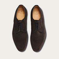 Mocha Bostonian Suede Leather Shoes | Bombinate