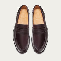Wine Red College Loafer | Bombinate
