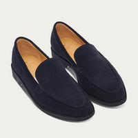 Navy Amalfi Loafer | Bombinate