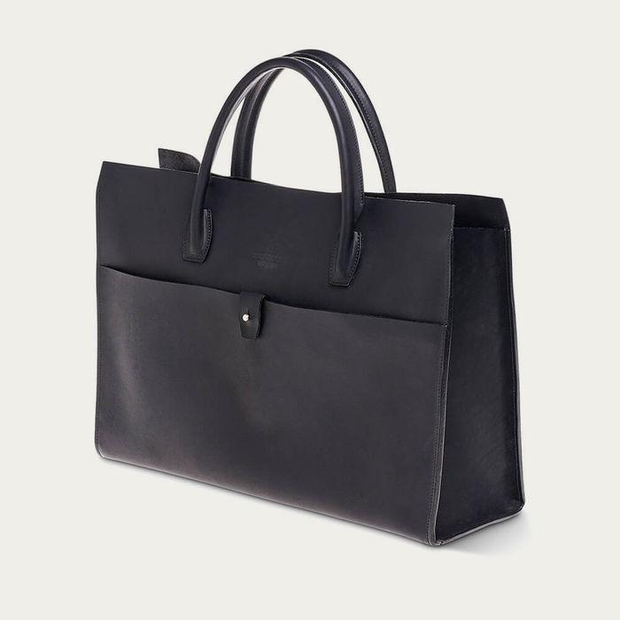 Black Russia Leather Tool Bag | Bombinate