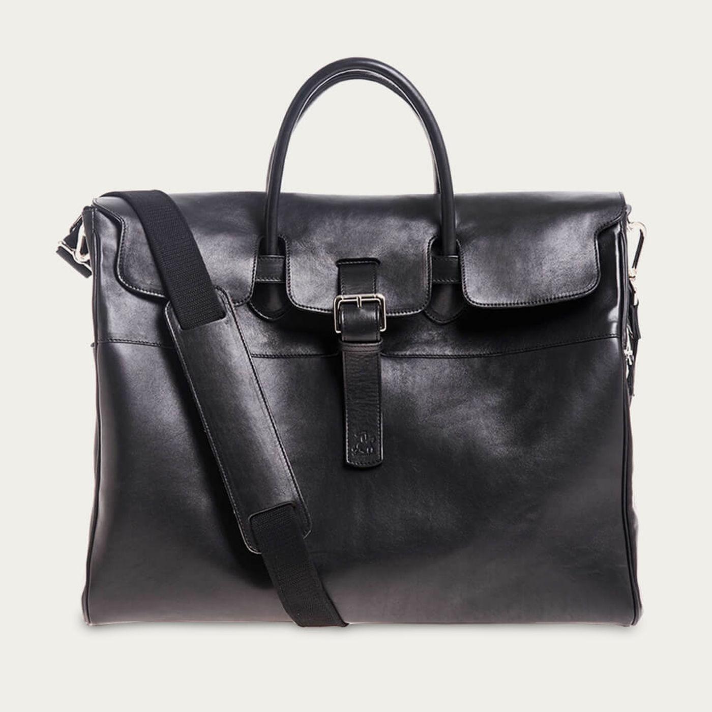Black Horse Leather Weekender | Bombinate