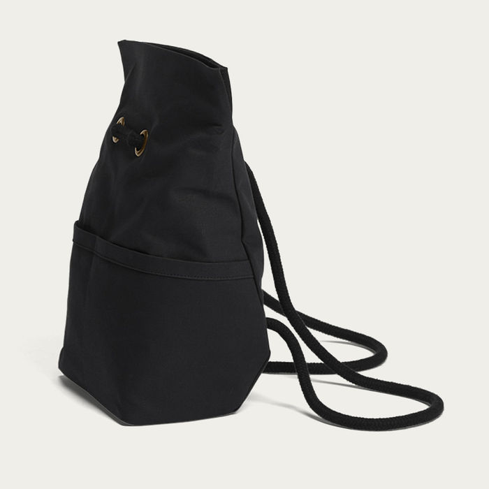 Black Dual Backpack Small   Bombinate