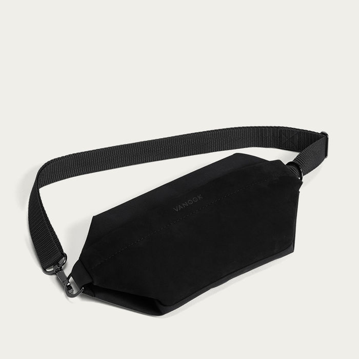 Black Sling Bag  | Bombinate