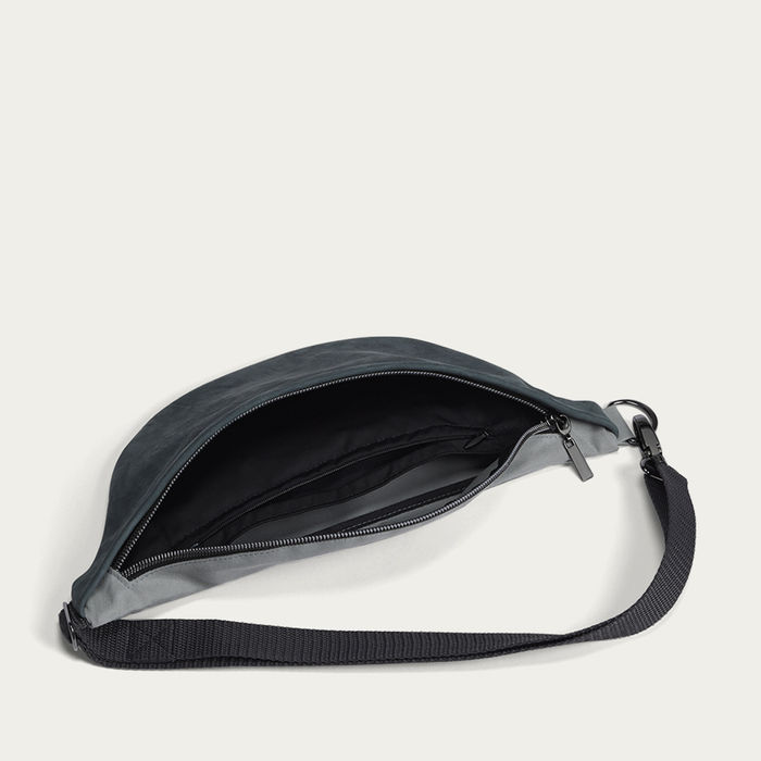 Teal Waist Bag plus inside pocket    Bombinate