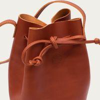 Marron Bucket Bag Limited   Bombinate