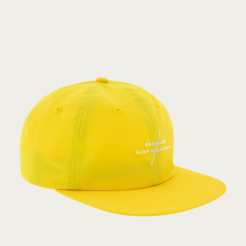Plain Yellow Cap Surfing Mag   Bombinate