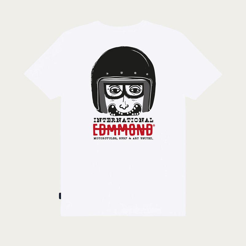 White El Zorro Loco Tee-shirt  | Bombinate