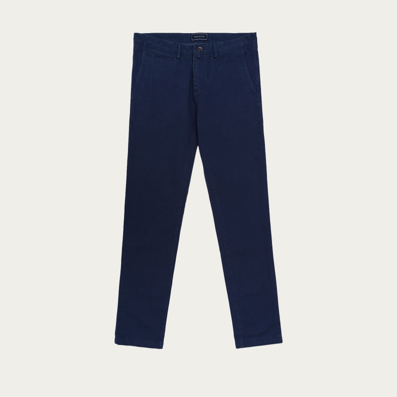 Navy John Chino Summer Pants | Bombinate