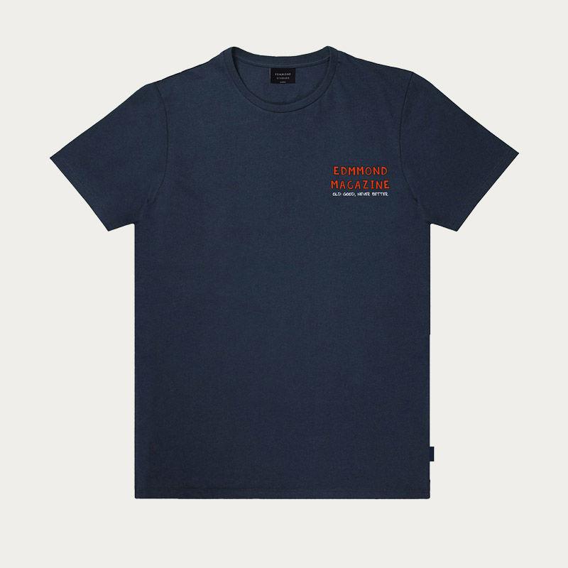 Plain Navy La Vie Simple Tee-shirt   Bombinate