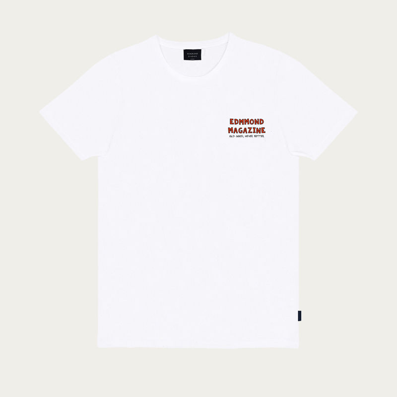 Plain White La Vie Simple Tee-shirt | Bombinate