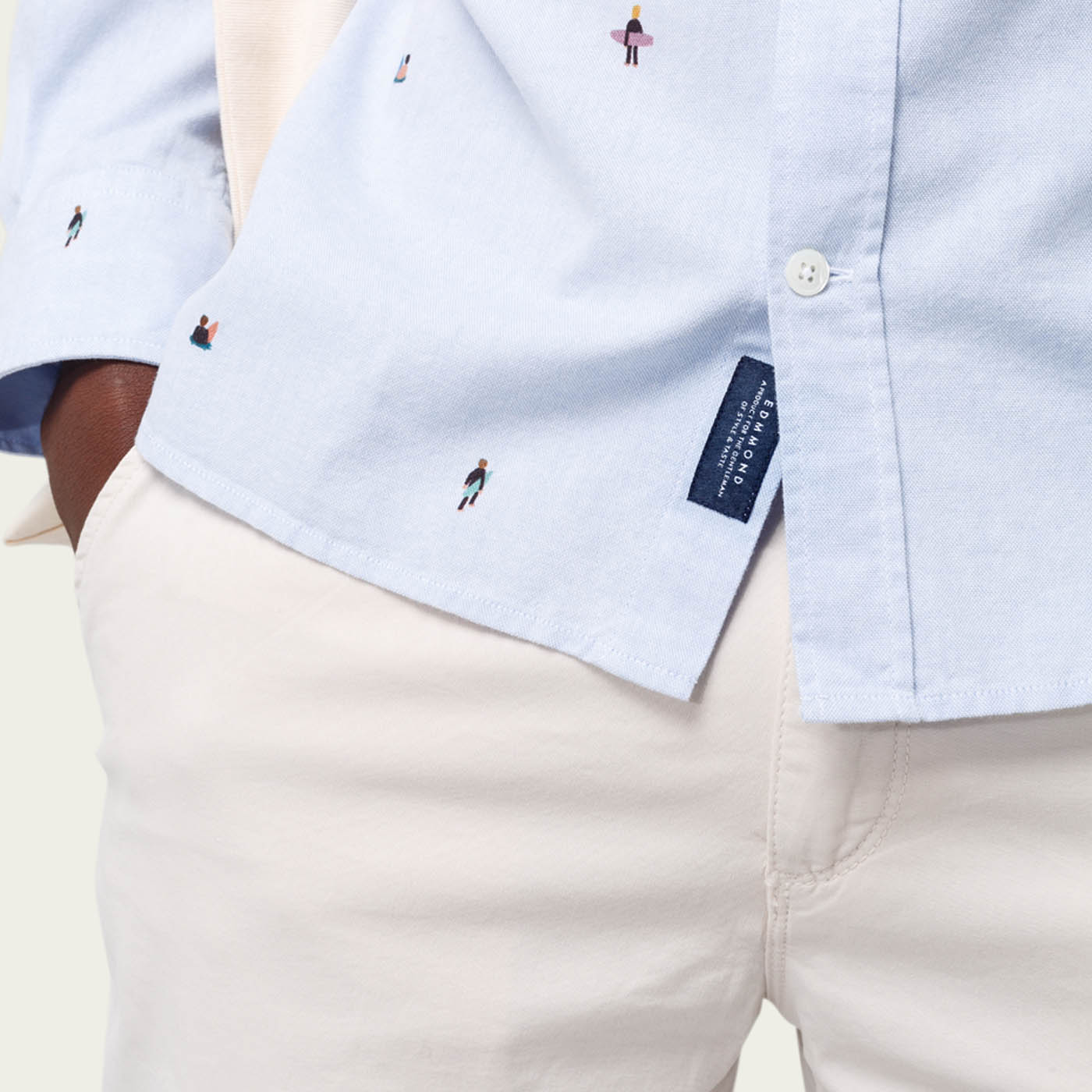 The Hôtel Contemporain Button Down Shirt | Bombinate