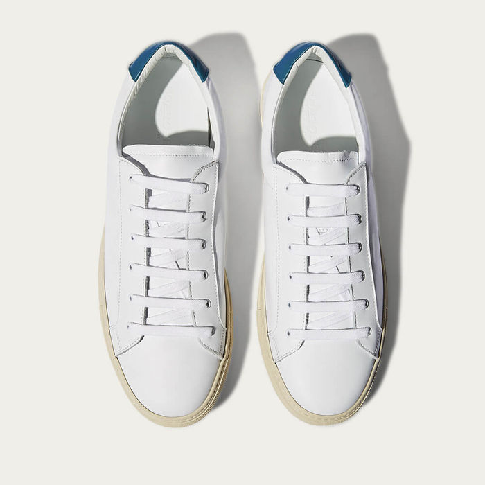 Blue Cosmo Low-Top Sneakers | Bombinate