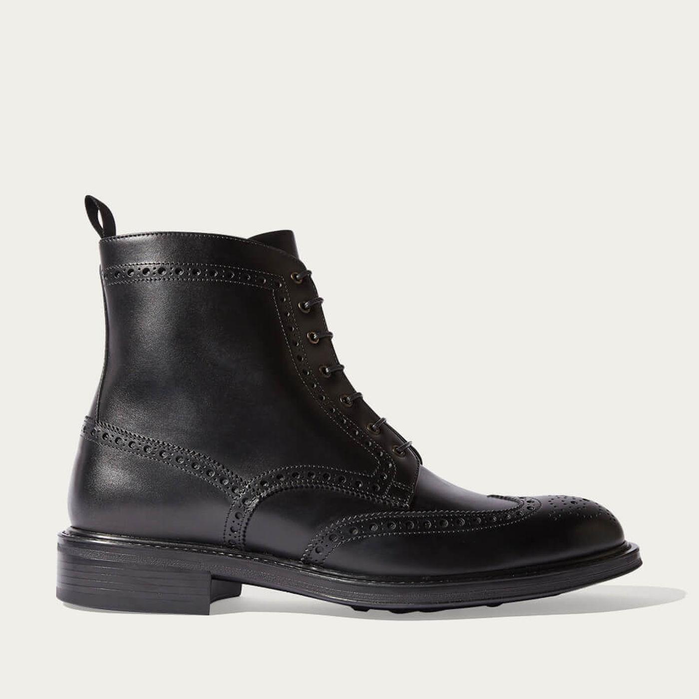 Black John Lace Boots | Bombinate