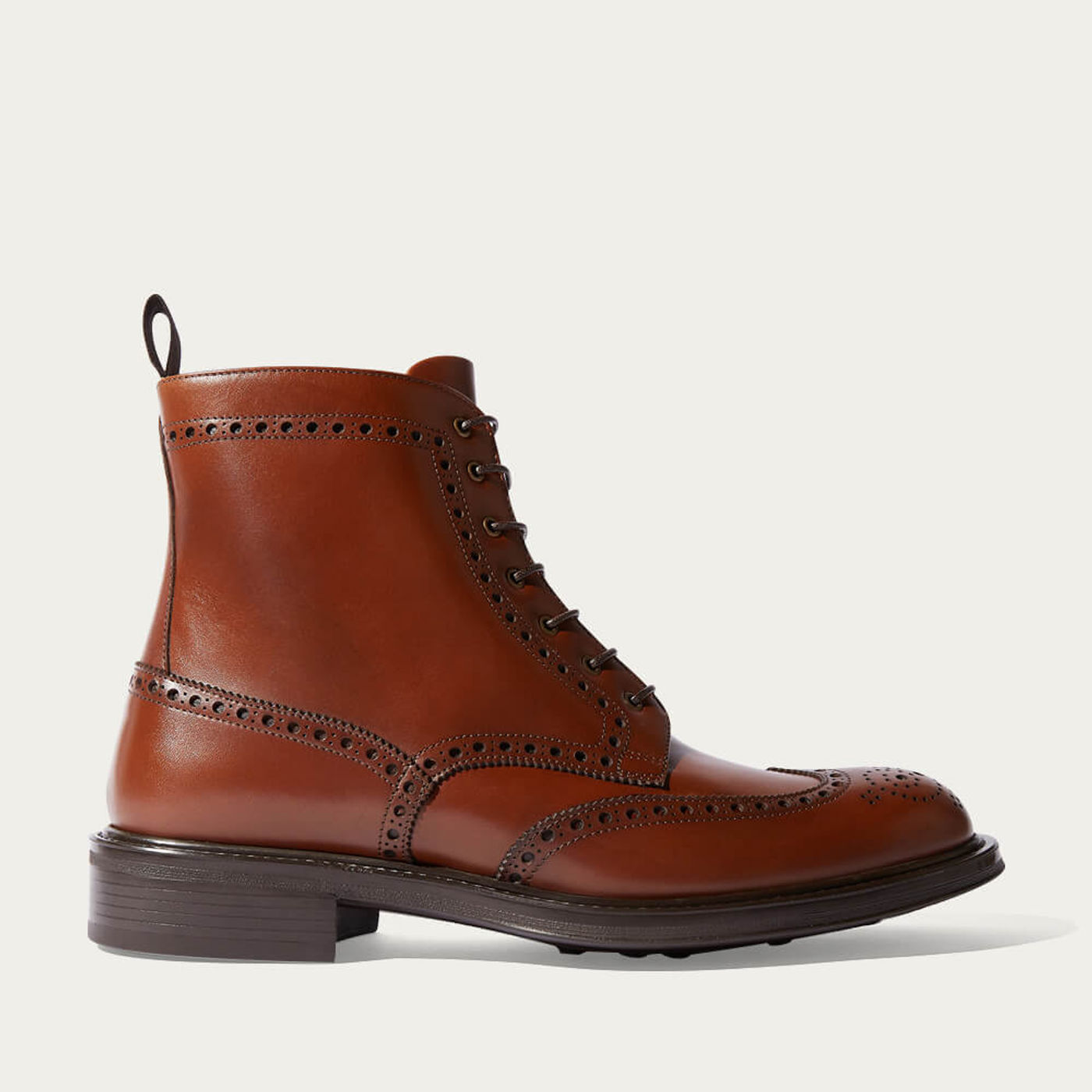 Tan John Lace Boots | Bombinate