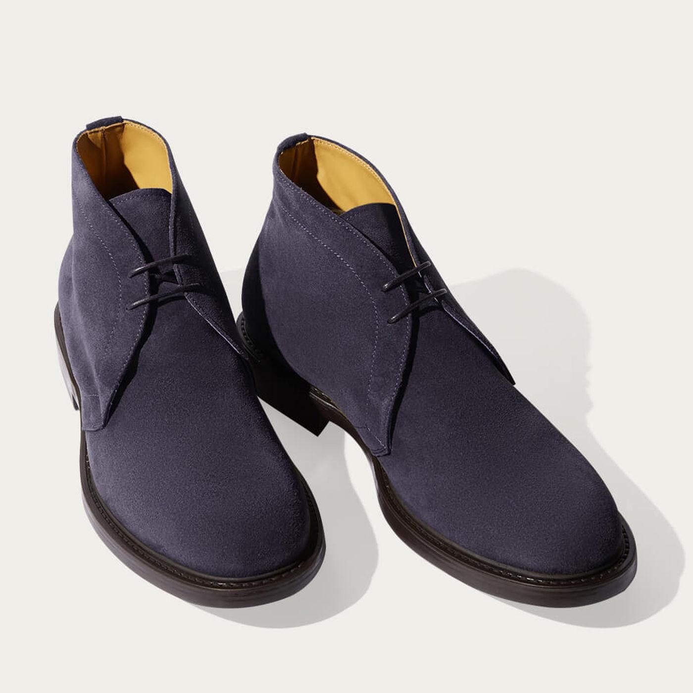 Blue Steve Ankle Boots   Bombinate