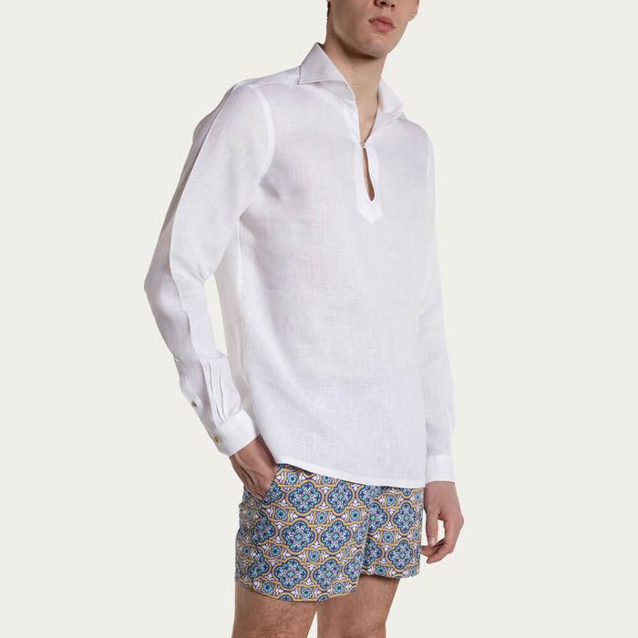 Camicia Capri Bianca Shirt | Bombinate