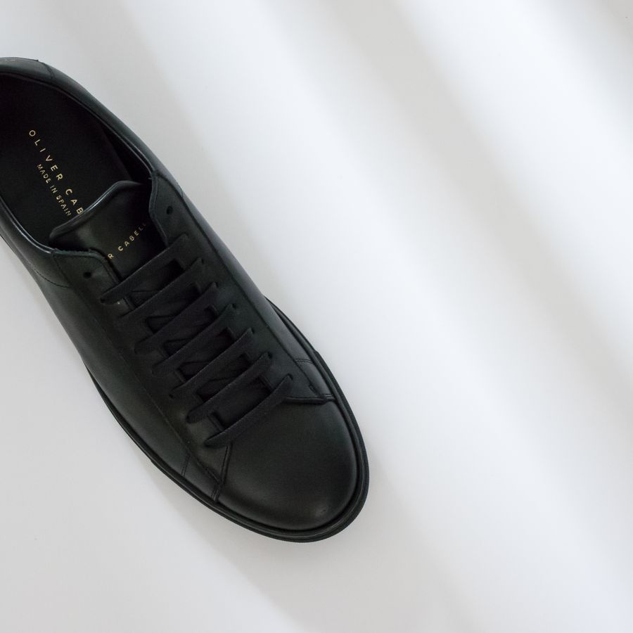Black Low Jet Sneakers   6