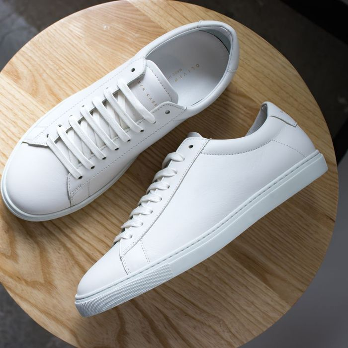 White Low Sneakers   | Bombinate