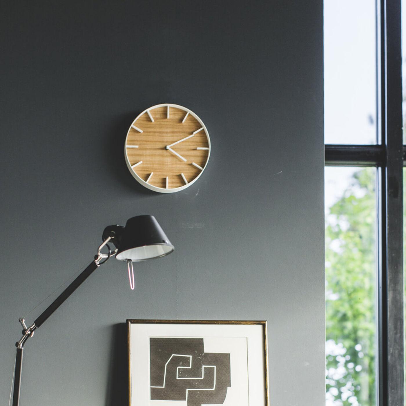 White Rin Wall Clock | Bombinate