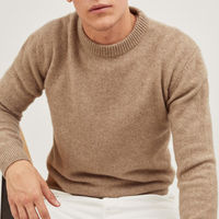 Camel The Eco-Cashmere Sweater | Bombinate