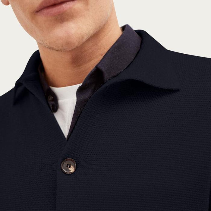Blue Oxford The Overshirt Jacket | Bombinate
