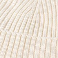 Ivory Extrafine Merino Hat   Bombinate