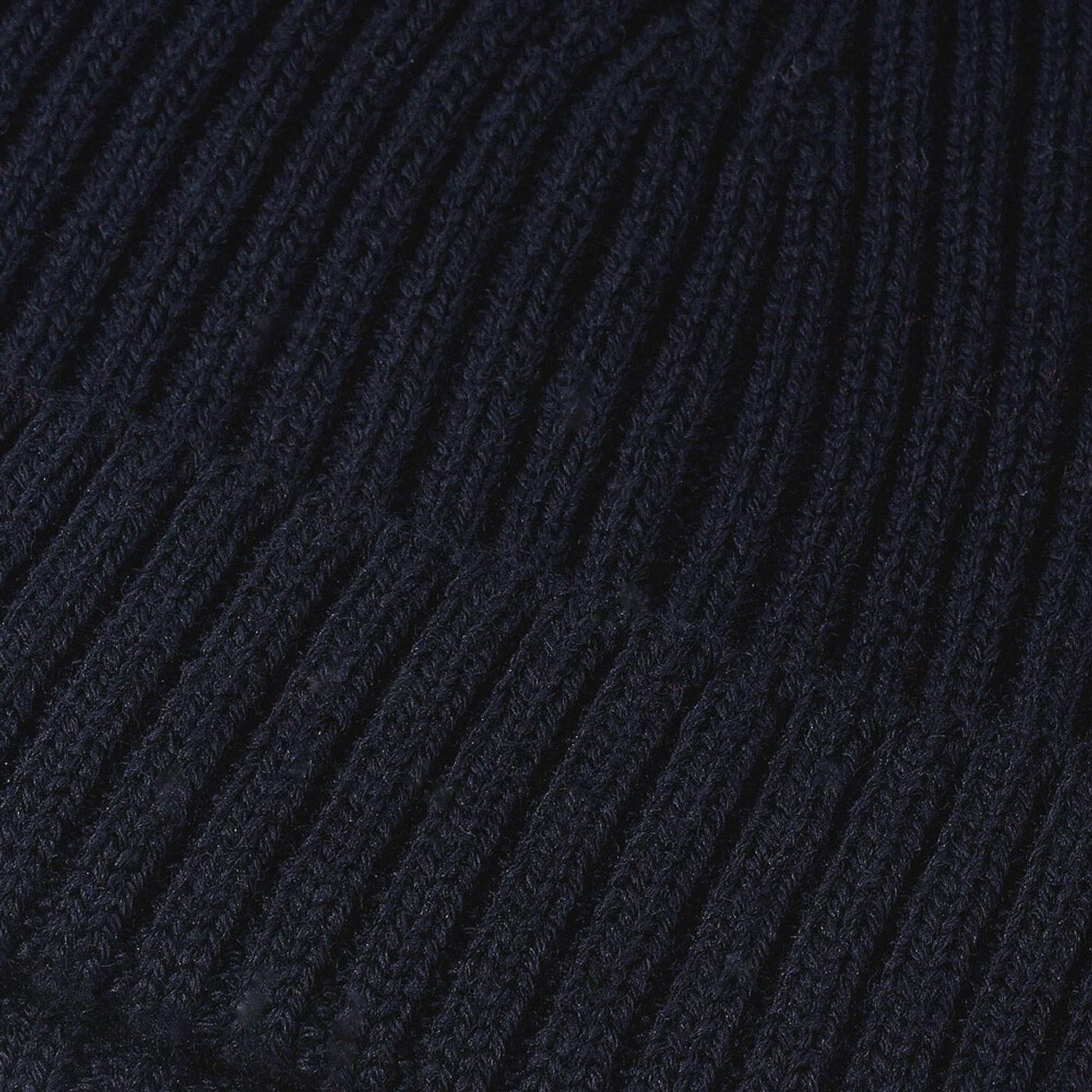 Navy Extrafine Merino Hat   Bombinate