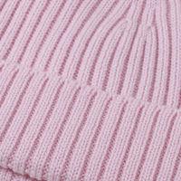 Pink Extrafine Merino Hat | Bombinate