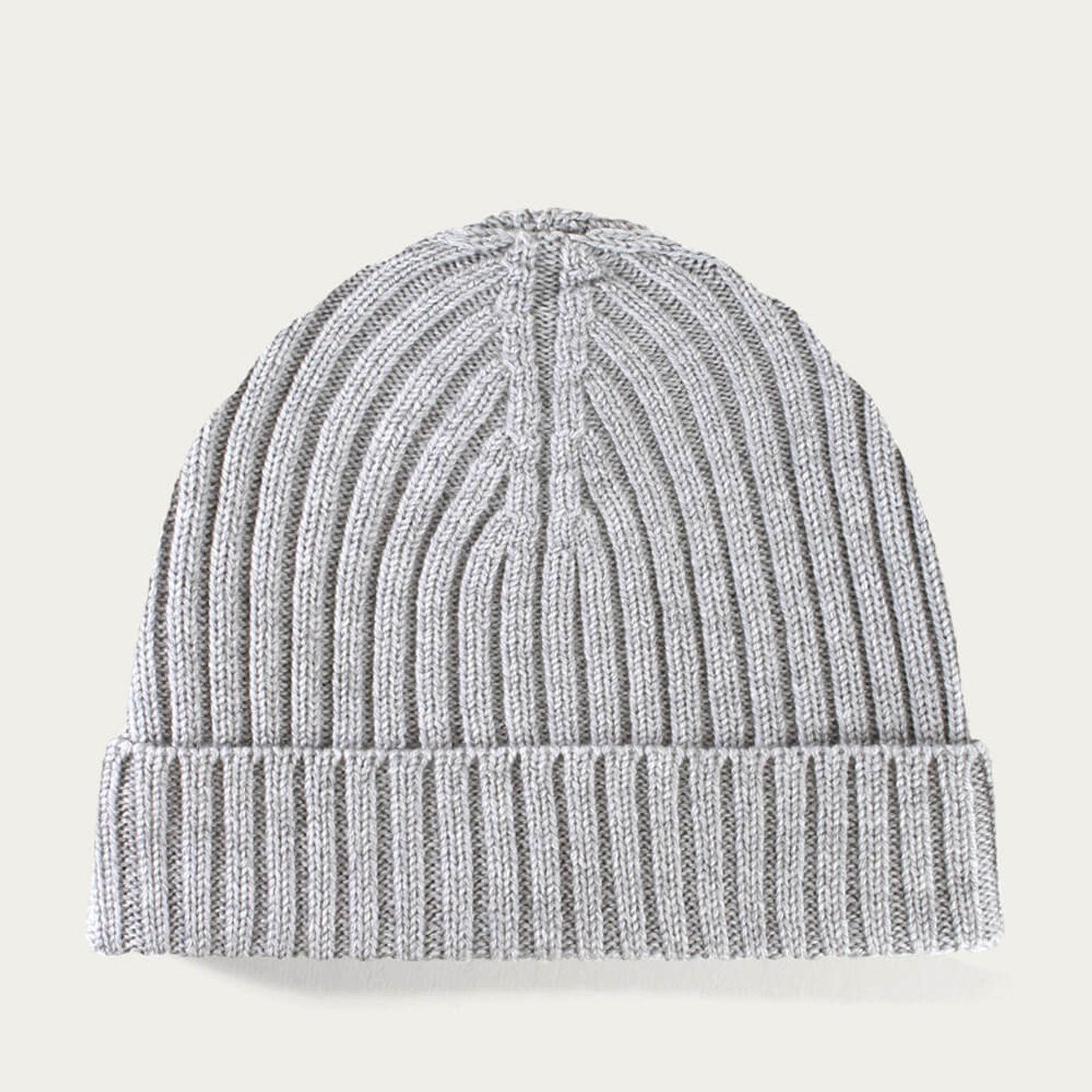 Light Grey Extrafine Merino Hat | Bombinate