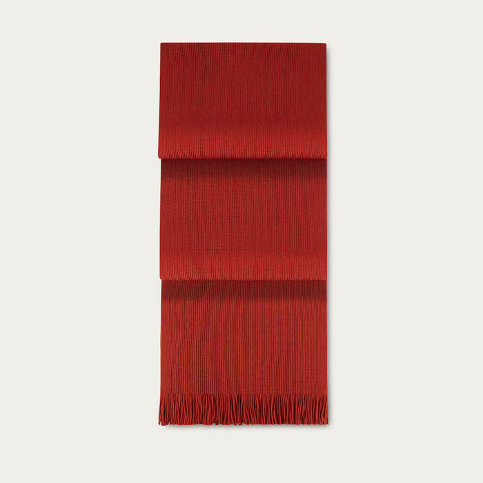 Burnt Sienna Extrafine Merino Scarf | Bombinate