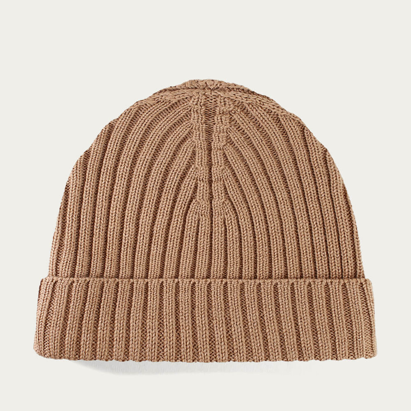 Beige Extrafine Merino Hat | Bombinate