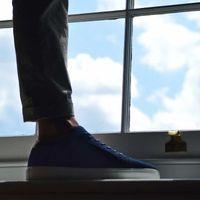 Navy Suede Series 1 Sneakers | Bombinate