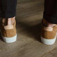 Tan Suede Series 1 Sneakers   Bombinate