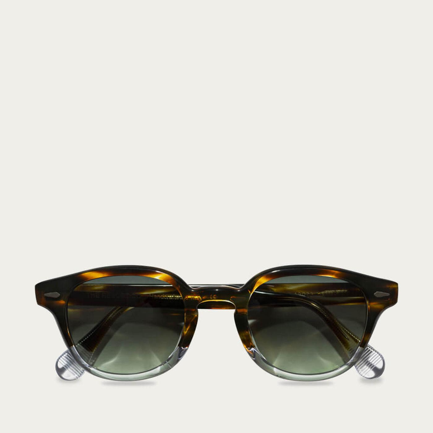 Dark Amber Havana/Transparent Mocambo Sunglasses | Bombinate
