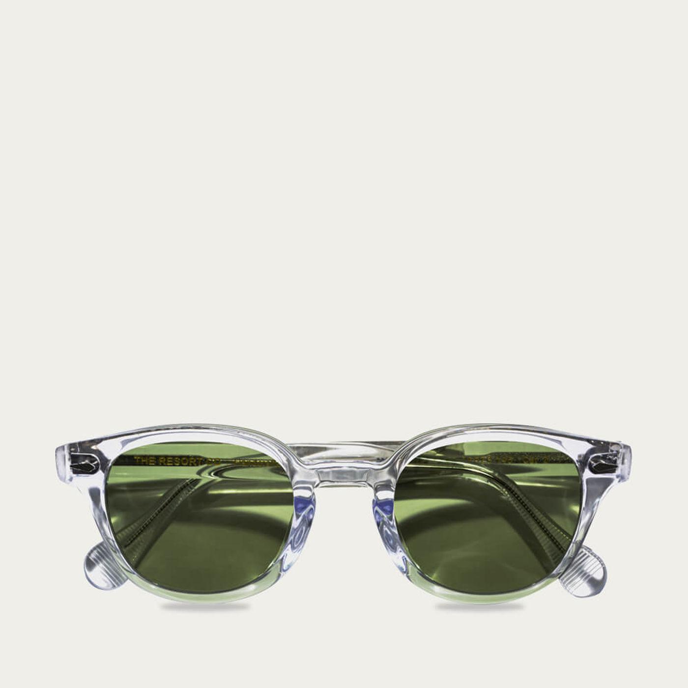 Transparent Mocambo Sunglasses   Bombinate