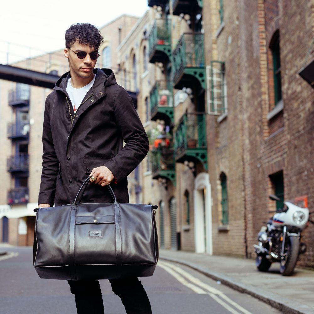 Adrian Adventurer Leather Duffel  | Bombinate