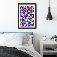Keep Going You're Getting There Art Print Black Frame | Bombinate