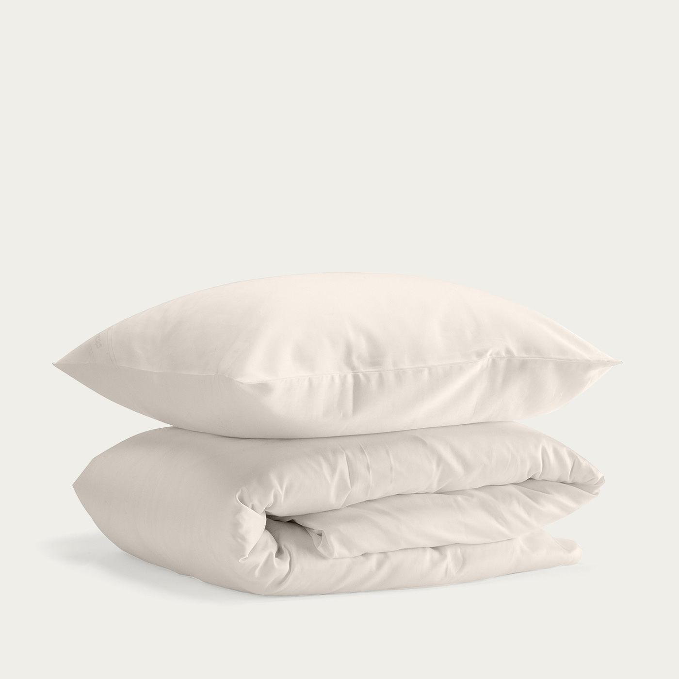 Baltic Sand Cotton Percale Duvet Set   Bombinate
