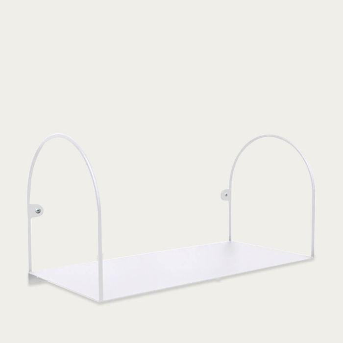 White BOW Small Shelf | Bombinate