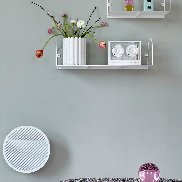 White BOW Medium Shelf | Bombinate