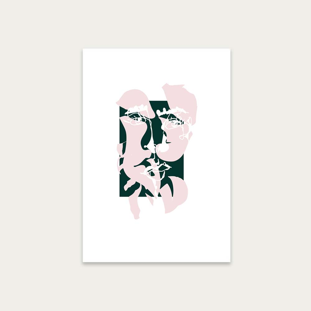 Unframed Modern Art II Art Print | Bombinate