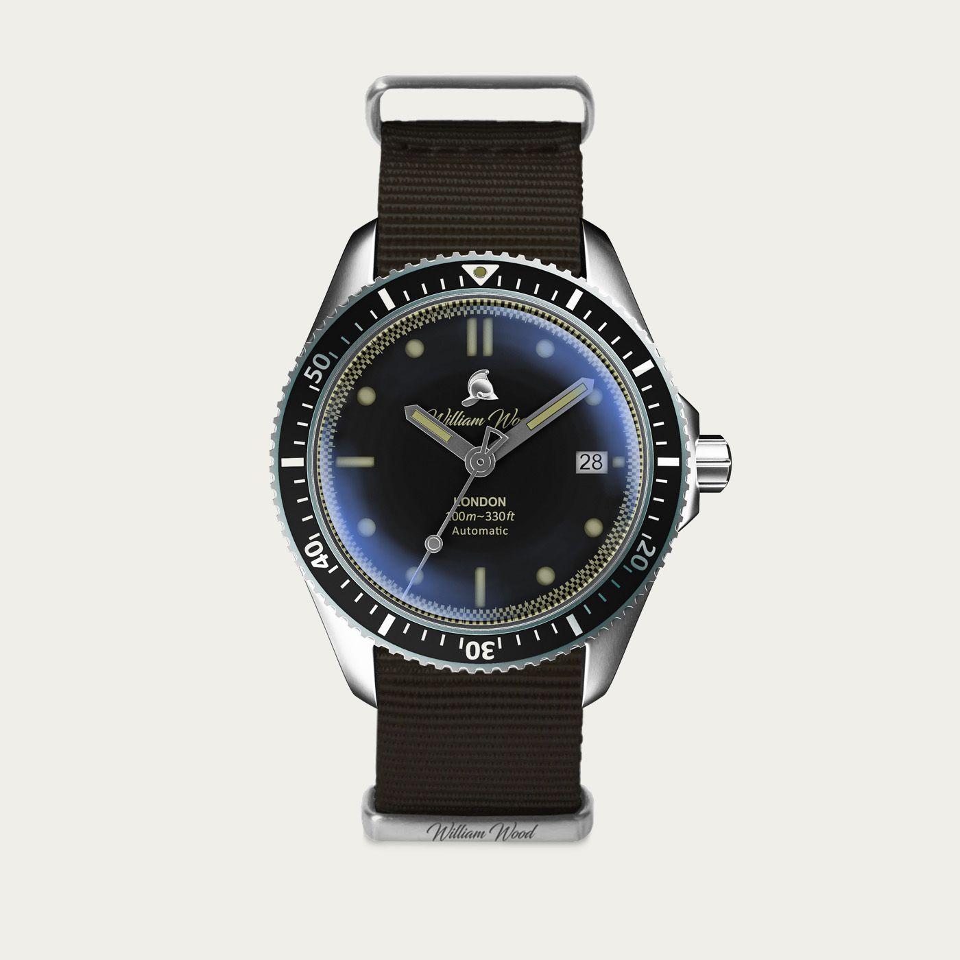 The Valiant Black Watch / Nato Strap | Bombinate