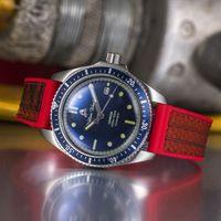 The Valiant Blue Watch / Fire Hose Strap   Bombinate